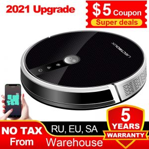 Robot Vacuum Cleaner +WiFi and Smart Memory