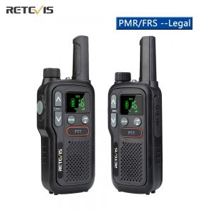 Retevis RB618 Mini Walkie Talkie Rechargeable Walkie-Talkies 1 or 2 pcs PTT PMR446 Long Range Portable Two-way Radio For Hunting